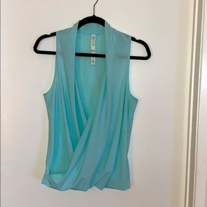 Lululemon draped Crossbody casual top